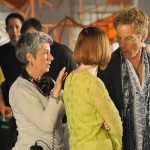 "Risa directing Greg Germann in ""The Con Artist"""